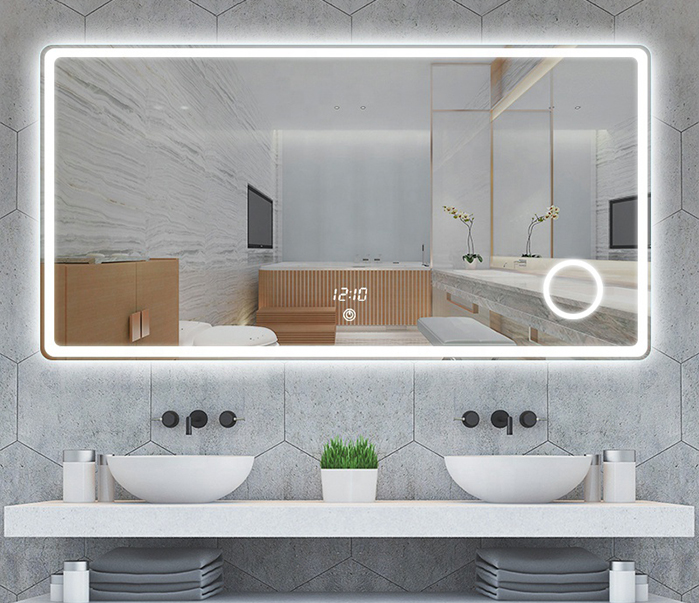 led bathroom cabinet mirrors