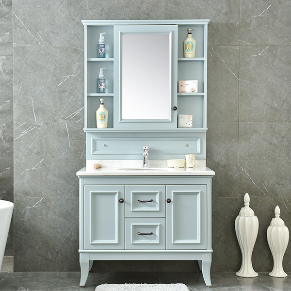 Cheap Commercial Bathroom Vanity Made In China Model No.AM-2508