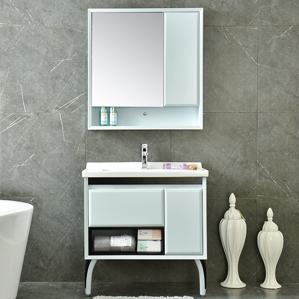 PVC Cheap Waterproof Bathroom Vanity Model No. AM-2503