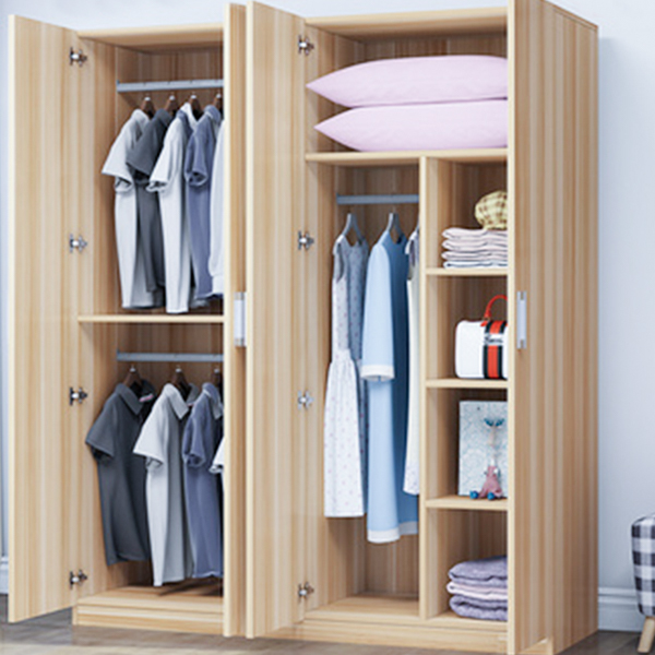 Professional Manufacture Bedroom Wood Color Wardrobe